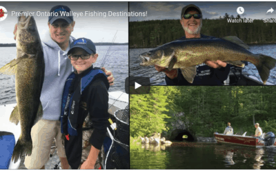 Premier Ontario Walleye Fishing Destinations!